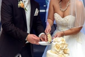 Wedding catering wedding cake